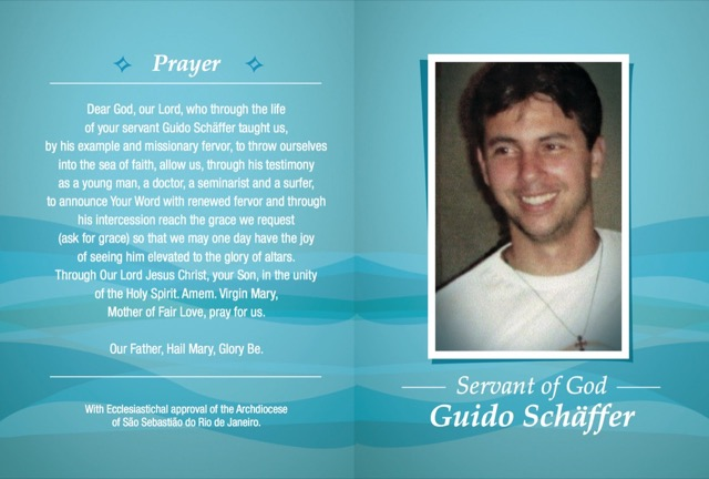 Guido's Holy Card
